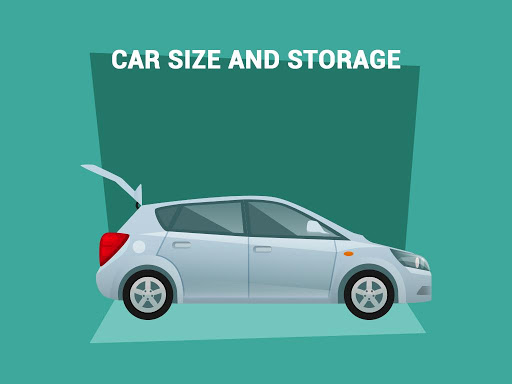 size and storage in family car